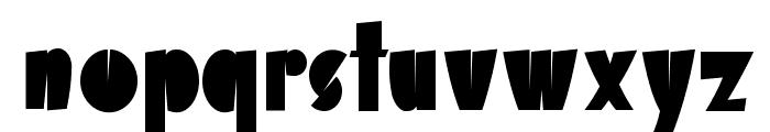 Airmole Font LOWERCASE