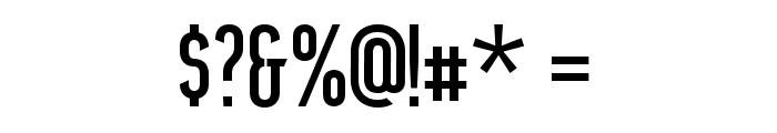 Airside Sans Regular Font OTHER CHARS