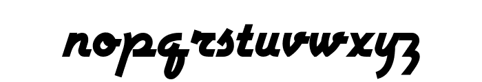 Airstream NF Font LOWERCASE