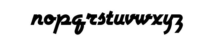 Airstream Font LOWERCASE