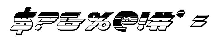 Airstrike Chrome Regular Font OTHER CHARS