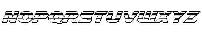 Airstrike Chrome Regular Font LOWERCASE