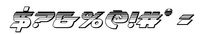 Airstrike Platinum Regular Font OTHER CHARS