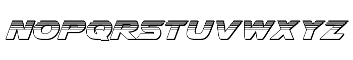 Airstrike Platinum Regular Font UPPERCASE