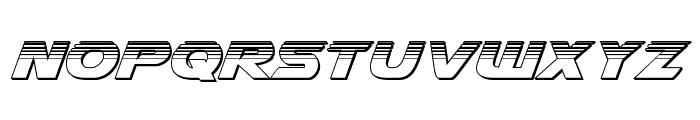 Airstrike Platinum Regular Font LOWERCASE