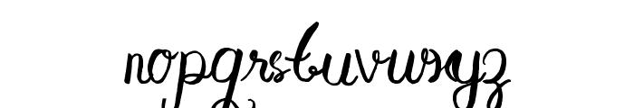 Aisy Khadijah Font LOWERCASE