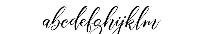 Aisyah Demo Font LOWERCASE