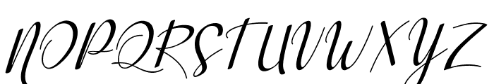 Aisyah Regular Font UPPERCASE