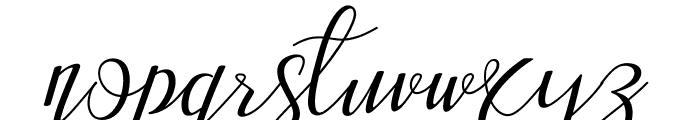 Aisyah Regular Font LOWERCASE