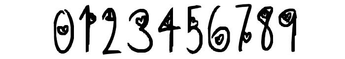 aishiteru Font OTHER CHARS