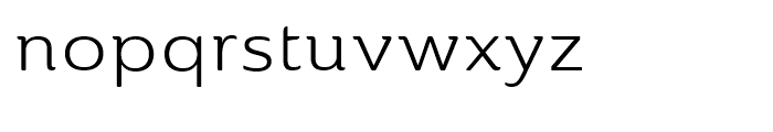Ainslie Extended Book Font LOWERCASE