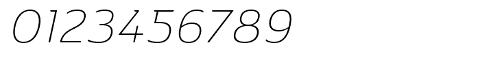 Ainslie Extended Light Italic Font OTHER CHARS