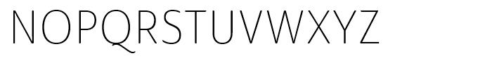 Ainslie Sans Condensed Light Font UPPERCASE
