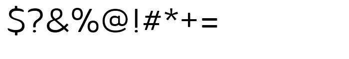 Ainslie Sans Extended Regular Font OTHER CHARS