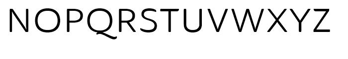 Ainslie Sans Extended Regular Font UPPERCASE
