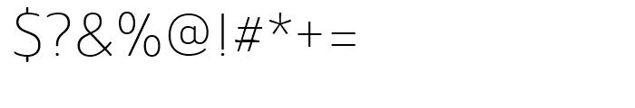 Ainslie Sans Normal Light Font OTHER CHARS