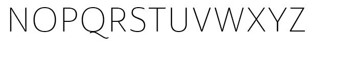 Ainslie Sans Normal Light Font UPPERCASE