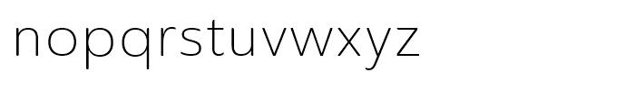 Ainslie Sans Normal Light Font LOWERCASE