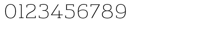 Ainslie Slab Extended Light Font OTHER CHARS