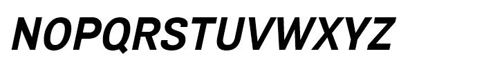 Air Bold Oblique Font UPPERCASE