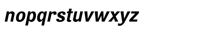 Air Bold Oblique Font LOWERCASE