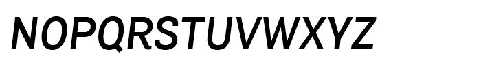 Air Semibold Italic Font UPPERCASE