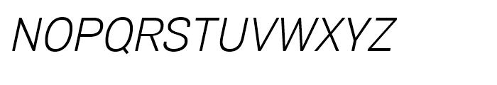 Air Soft Light Oblique Font UPPERCASE