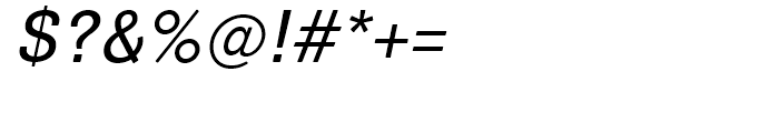 Air Soft Medium Oblique Font OTHER CHARS