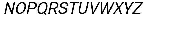 Air Soft Medium Oblique Font UPPERCASE