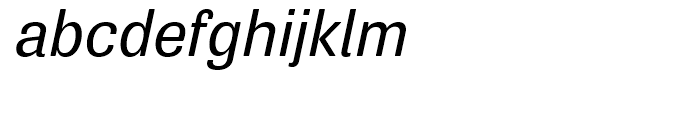 Air Soft Medium Oblique Font LOWERCASE