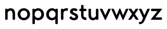 Air Factory Rounded Bold Font LOWERCASE