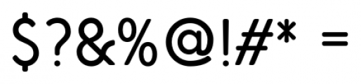 Air Factory Rounded Regular Font OTHER CHARS