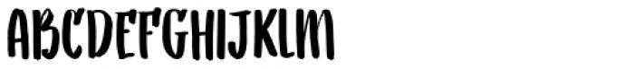 Aiguille Regular Font UPPERCASE