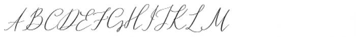 Ailre Heleris Regular Font UPPERCASE