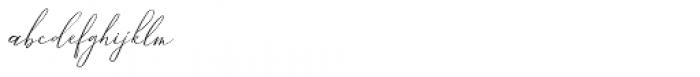 Ailre Heleris Regular Font LOWERCASE