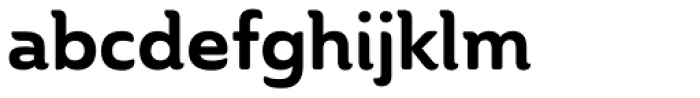 Ainslie Bold Font LOWERCASE