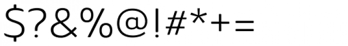 Ainslie Extd Book Font OTHER CHARS