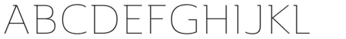 Ainslie Extd Thin Font UPPERCASE