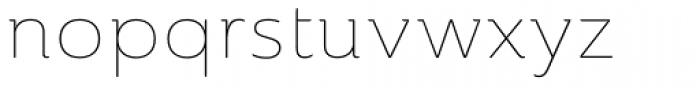 Ainslie Extd Thin Font LOWERCASE
