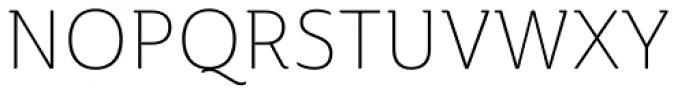 Ainslie Light Font UPPERCASE