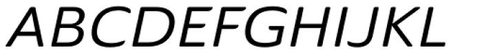 Ainslie Sans Extd Medium Italic Font UPPERCASE