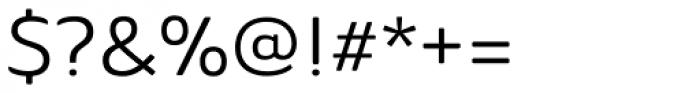 Ainslie Sans Extd Regular Font OTHER CHARS