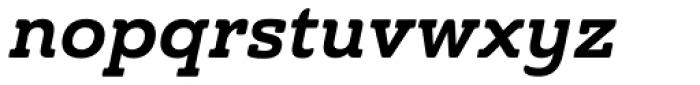 Ainslie Slab Bold Italic Font LOWERCASE