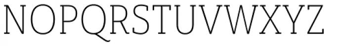 Ainslie Slab Cond Light Font UPPERCASE