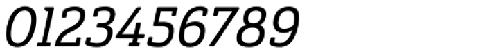 Ainslie Slab Cond Medium Italic Font OTHER CHARS