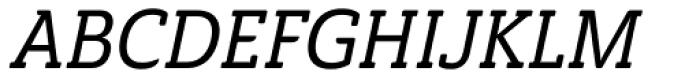 Ainslie Slab Cond Medium Italic Font UPPERCASE