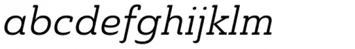 Ainslie Slab Italic Font LOWERCASE