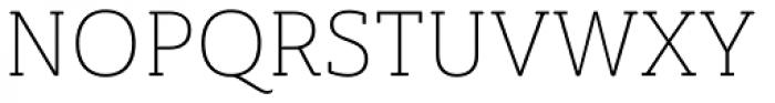 Ainslie Slab Light Font UPPERCASE
