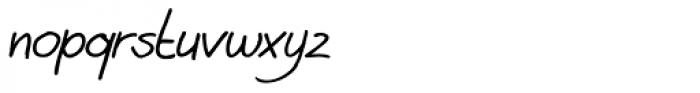 Aint Nothing Fancy Italic Font LOWERCASE