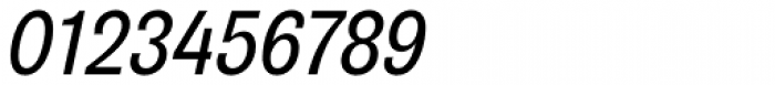 Air Condensed Medium Oblique Font OTHER CHARS